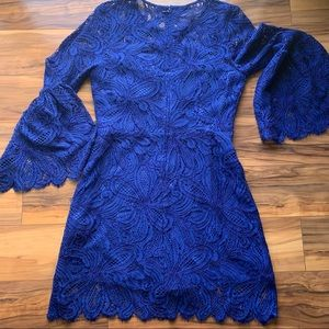 Lilly Pulitzer lace bell sleeve romper 6
